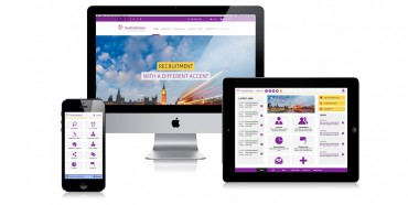 Recruitment Web design made for Australasian