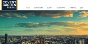 Covent garden web design