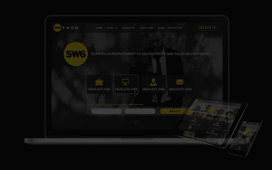 Recruitment website for SW6