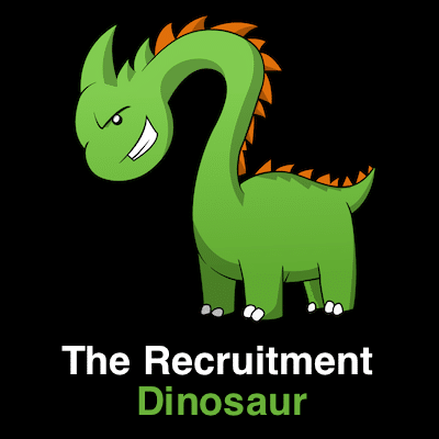 The recruitment dinosaur