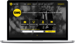 SW6 Recruitment web design