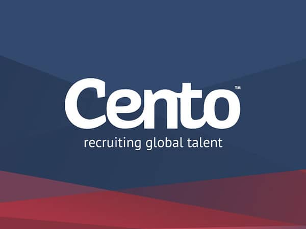 Recruitment website design for Cento Recruitment