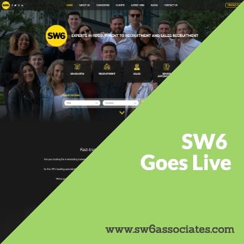 recruitment website design for SW6