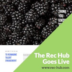 recruitment website for the Rec Hub