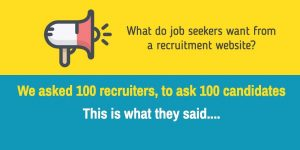 What candidates want from a recruitment website