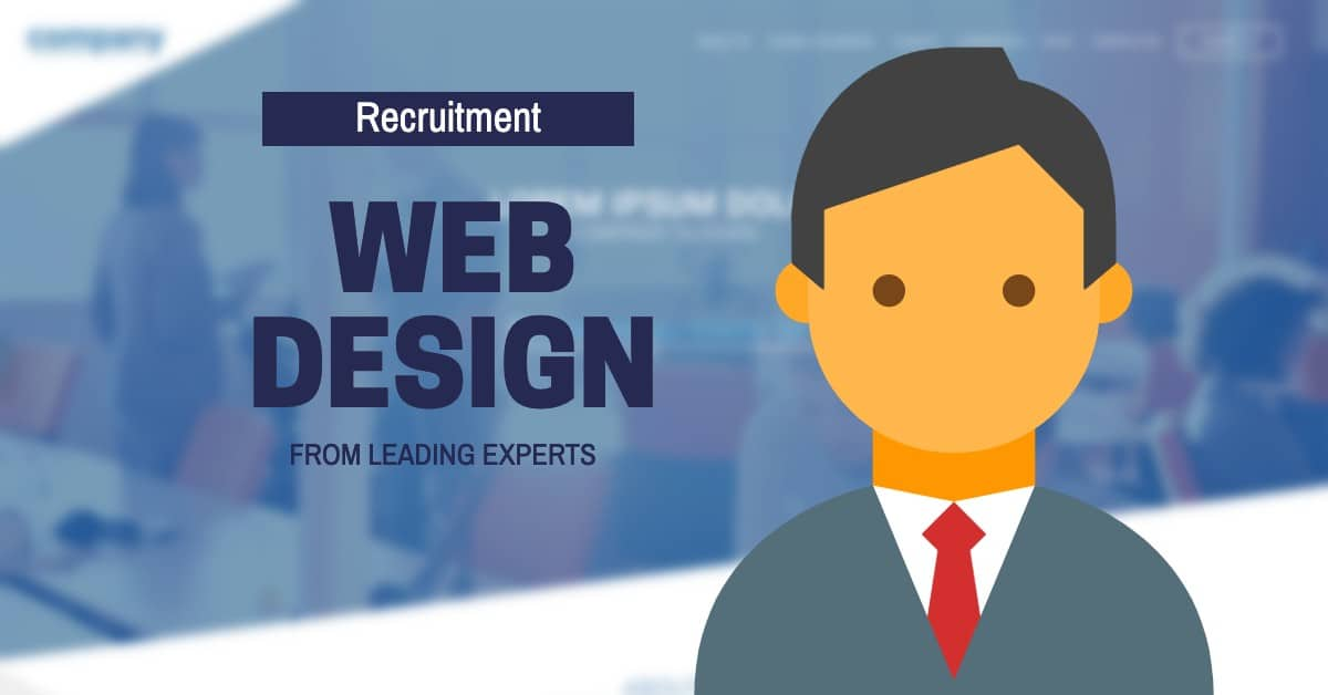 recruitment web design