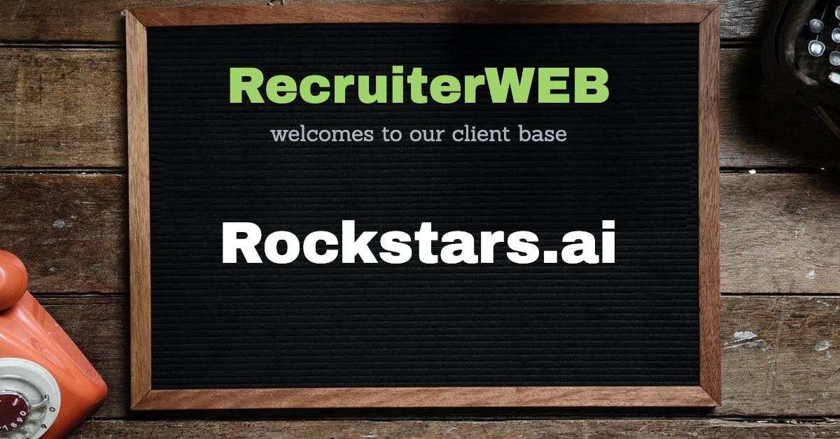 recruitment website for rockstars.ai