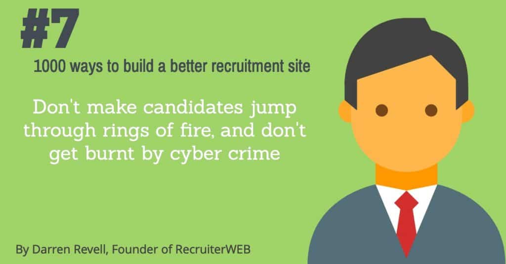 recruitment website tips