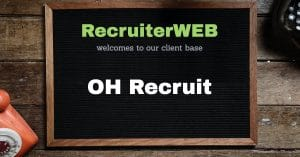 Recruitment website supplied to OH Recruit