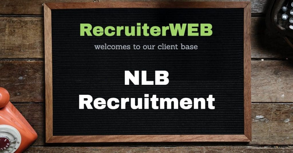 recruitment website design for NLB