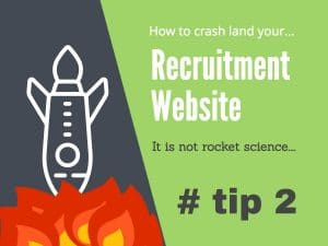 recruitment website mistakes