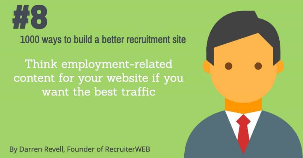 recruitment seo advice